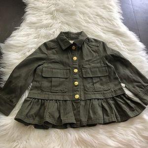 Girls Kate Spade Army Jacket